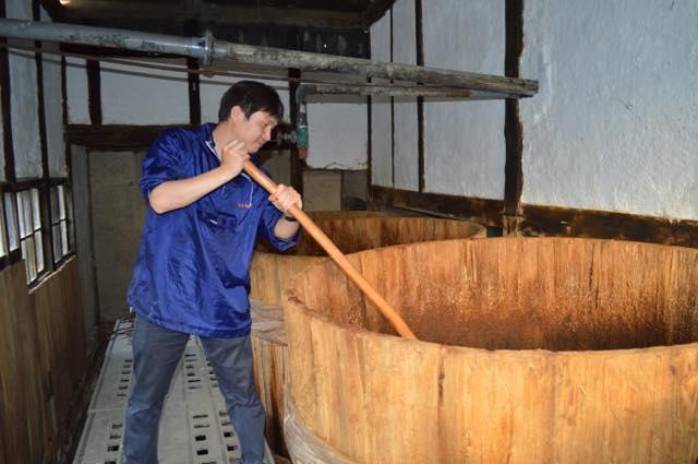 100年前の木樽